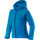 Houdini Jr Power Houdi Jacket hodde blue